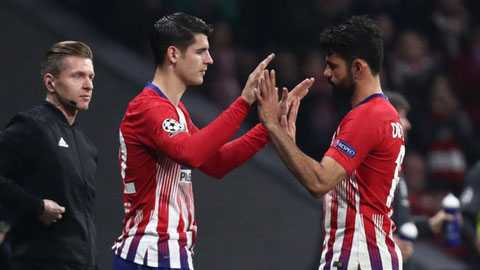 Atletico nguy hiểm khi… thay người